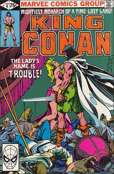 King Conan 6-A by Marvel