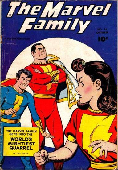 Marvel Family 16-A by Fawcett
