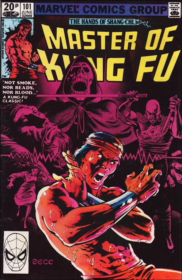 Master of Kung Fu 101-B by Marvel