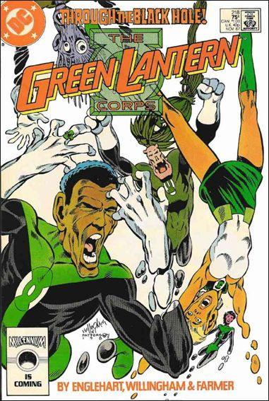 Green Lantern Corps (1986) 218-A by DC