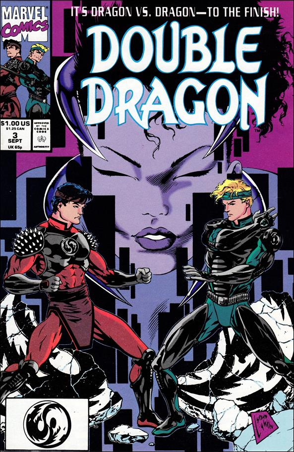 Double Dragon 3-A by Marvel