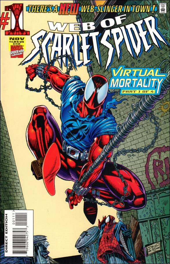 Web of Scarlet Spider 1-A by Marvel