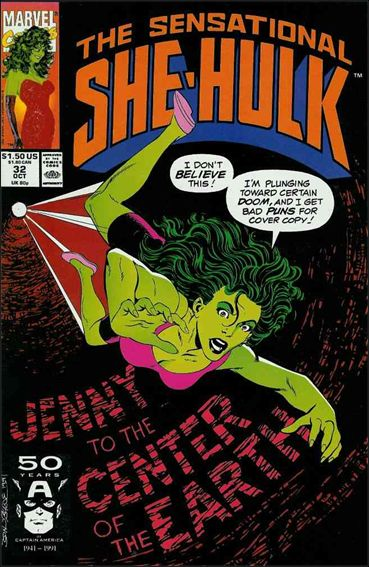 Sensational She-Hulk 32-A by Marvel