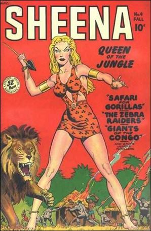 Sheena, Queen of the Jungle (1942) 4-A