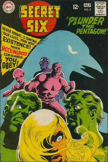 Secret Six (1968) 2-A by DC