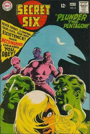 Secret Six (1968) 2-A