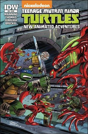 Teenage Mutant Ninja Turtles New Animated Adventures 24-A