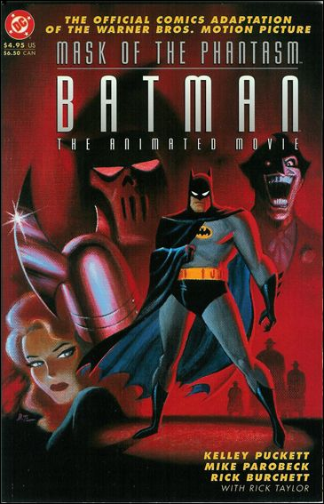 Batman: Mask of the Phantasm - The Animated Movie 1-A by DC