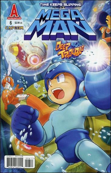 Mega Man 6-A by Archie