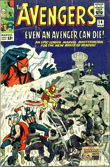 Avengers (1963) 14-A by Marvel
