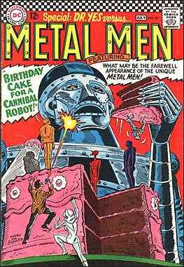 Metal Men (1963) 20-A by DC