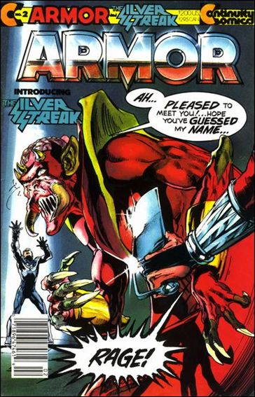Armor (1985) 2-A by Continuity Comics