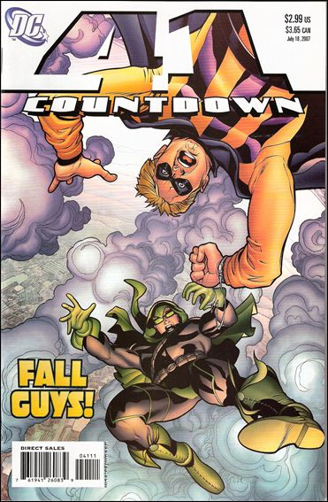 Countdown (2007) 41-A by DC