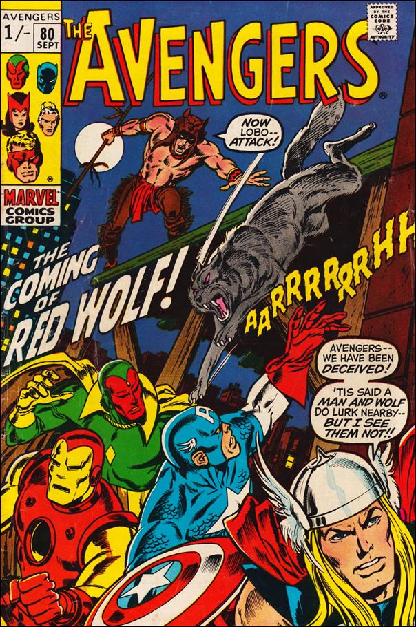 Avengers (1963) 80-B by Marvel