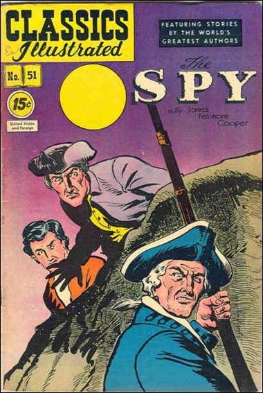 Classic Comics/Classics Illustrated 51-E by Gilberton