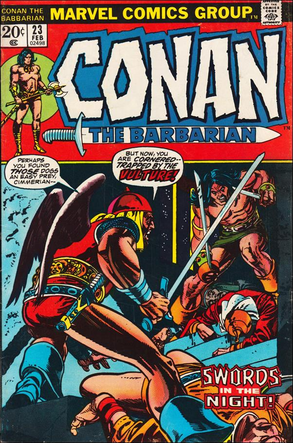 Conan the Barbarian (1970) 23-A by Marvel