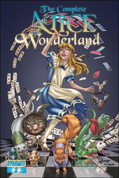 Complete Alice in Wonderland 2-A by Dynamite Entertainment