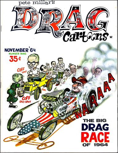 Drag Cartoons (1963) 9-A by Millar