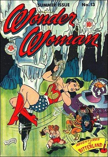 Wonder Woman (1942) 13-A by DC