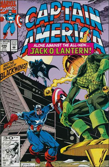 Captain America (1968) 396-A by Marvel