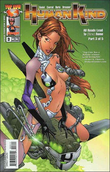 Humankind 3-A by Top Cow