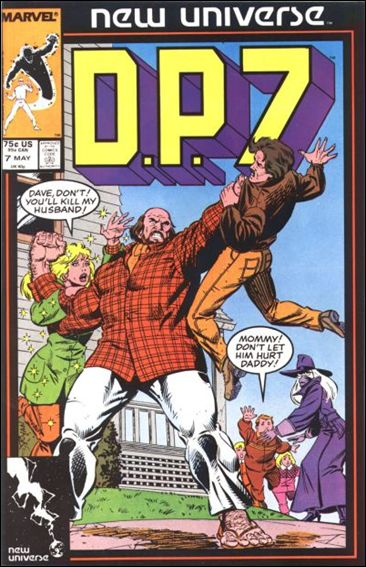 D.P.7 7-A by Marvel