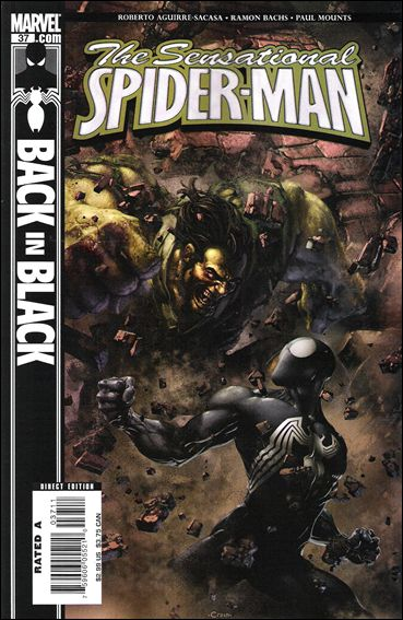 Sensational Spider-Man (2006) 37-A by Marvel