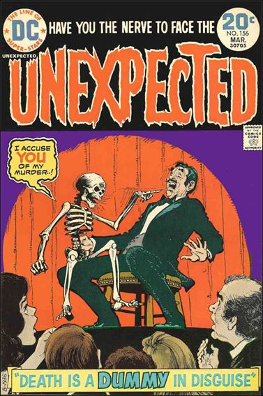 Unexpected (1968) 156-A by DC