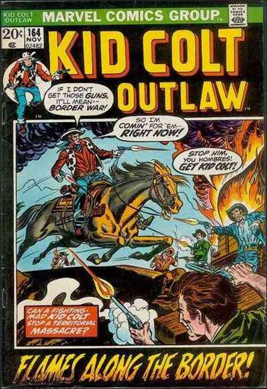 Kid Colt Outlaw  164-A by Marvel