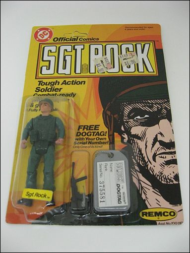 Sgt. Rock: Tough Action Soldiers  Sgt. Rock by Remco