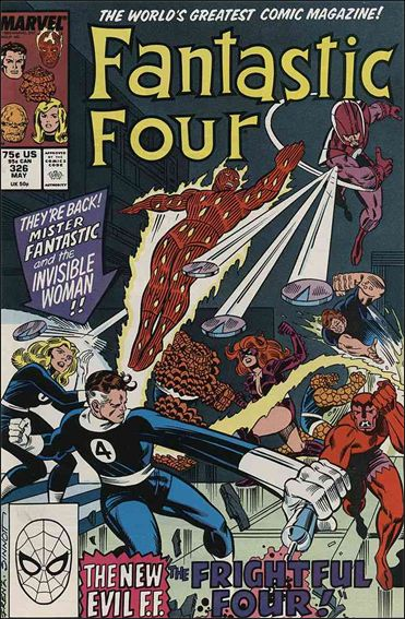 Fantastic Four (1961) 326-A by Marvel