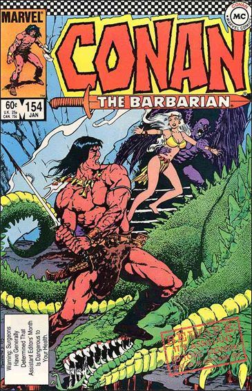 Conan the Barbarian (1970) 154-A by Marvel