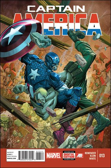 Captain America (2013) 13-A by Marvel
