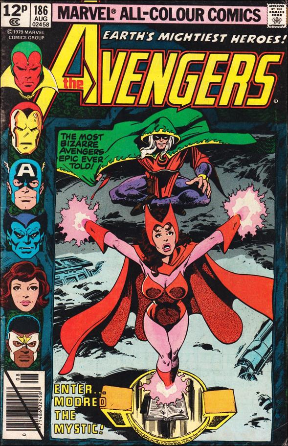 Avengers (1963) 186-B by Marvel