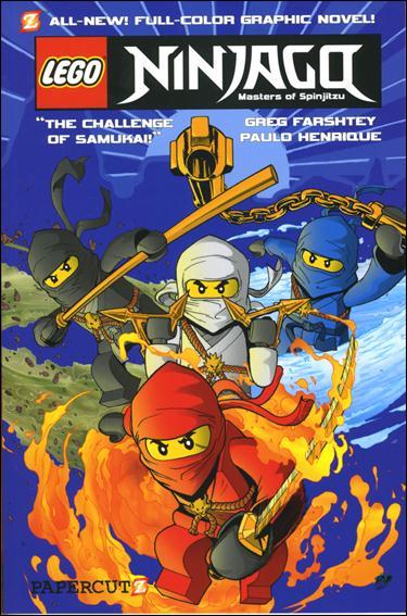 LEGO Ninjago Masters of Spinjitzu 1-A by Papercutz