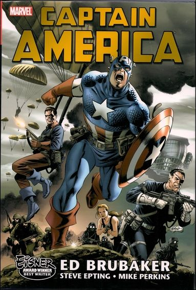 Captain America by Ed Brubaker Omnibus 1-A by Marvel