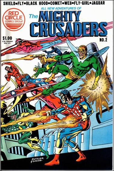 All New Adventures of the Mighty Crusaders 2-A by Red Circle