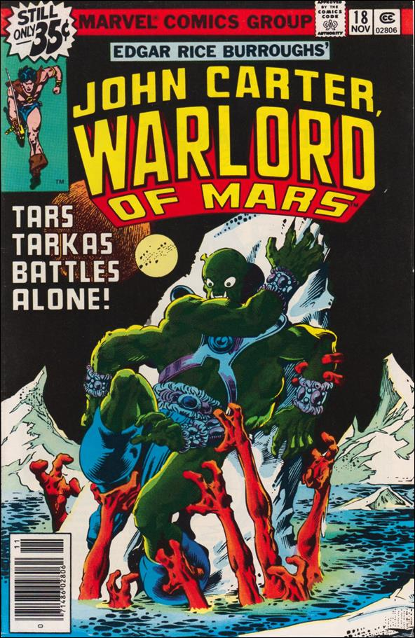 John Carter, Warlord of Mars 18-A by Marvel