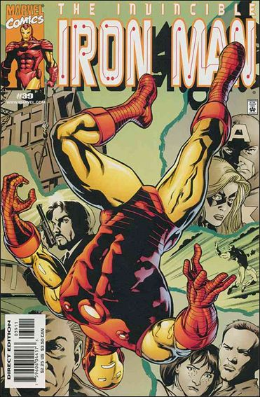 Iron Man (1998) 39-A by Marvel