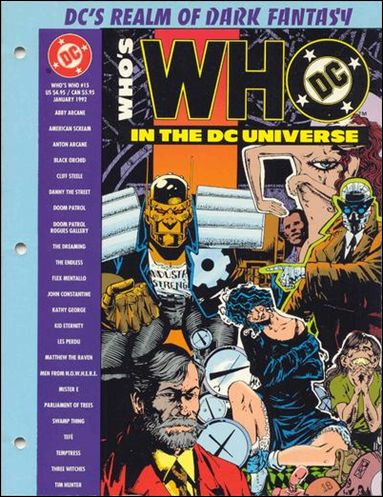 Who's Who In the DC Universe 15-A by DC