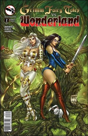 Grimm Fairy Tales Vs. Wonderland 2-C