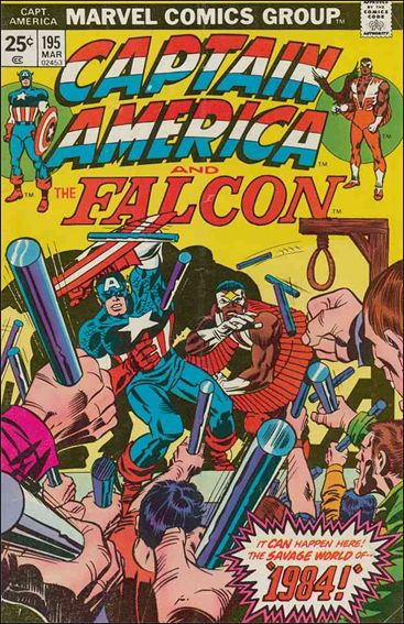 Captain America (1968) 195-A by Marvel