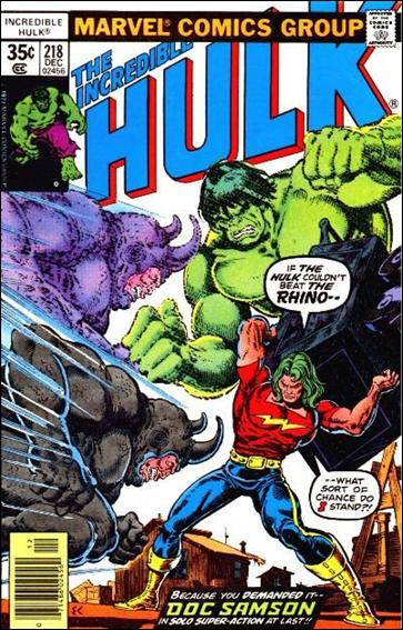 Incredible Hulk (1968) 218-A by Marvel