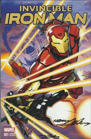 Invincible Iron Man (2015)  1-T