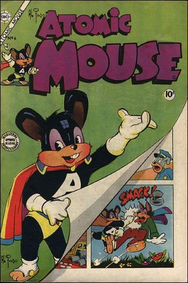 Atomic Mouse (1953) 6-A by Charlton