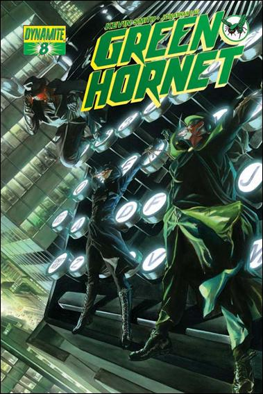 Green Hornet (2010) 8-A by Dynamite Entertainment