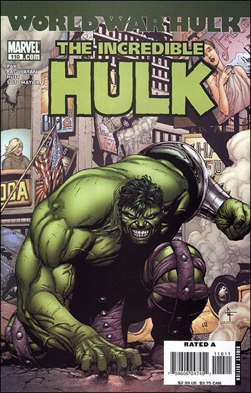 Incredible Hulk (2000)  110-A by Marvel