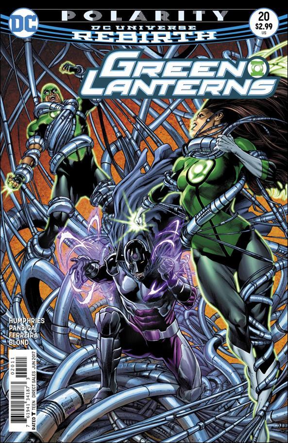 Green Lanterns 20-A by DC