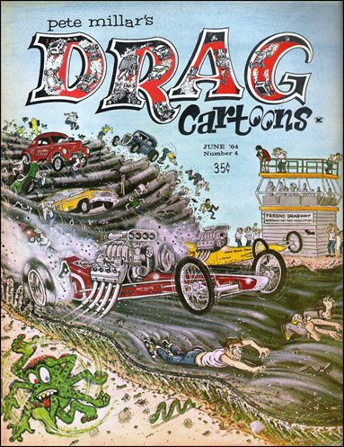 Drag Cartoons (1963) 4-A by Millar
