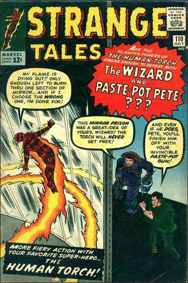 Strange Tales (1951) 110-A by Marvel